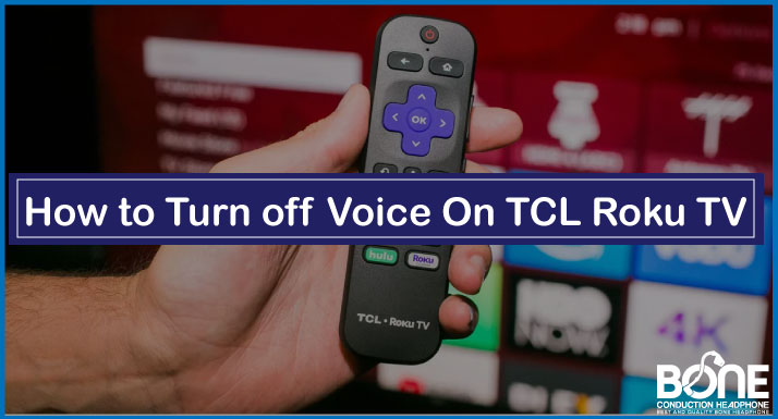 How to Turn off Voice On TCL Roku TV